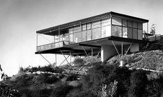 Huset i Beverly Hills som Greta Magnusson Grossman ritade till sig själv.