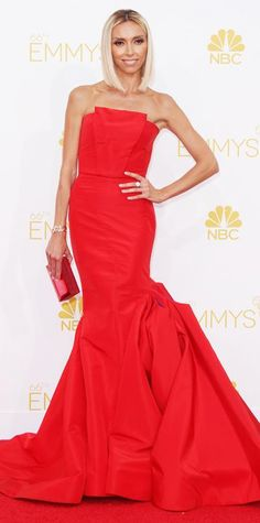 Emmy Awards 2014 Red Carpet Photos - Giuliana Rancic - from InStyle.com