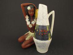Vintage Keramik Vase von Scheurich  / Modell 271 22 | West German Pottery | 60er von ShabbRockRepublic auf Etsy