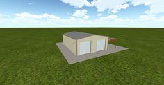 Cool 3D #marketing http://ift.tt/2zrlrAr #barn #workshop #greenhouse #garage #roofing #DIY