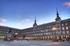 Plaza Mayor, Madrid, Spain  Statue of King Philips III