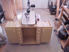 Scroll Saw Cabinet - by RoadHogg @ LumberJocks.com ~ woodworking community
