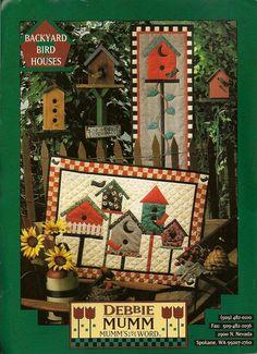 | Debbie Mumm Backyard Birdhouses Quilt Pattern by PaperKitz on Etsy