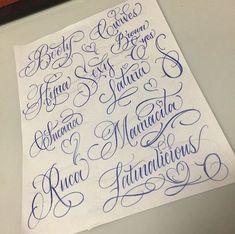 64 Ideas For Tattoo Fonts Cursive Gangster Tattoo Writing Styles, Tattoo Writing Fonts, Tattoo Name Fonts, Handwriting Tattoos, Tattoo Lettering Styles, Chicano Lettering, Name Tattoos, Cursive Handwriting, Tattoo Quotes