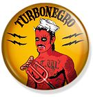chapa turbonegro rock band  button  Www.rockerbuttons.com #turbonegro #turbojugend #pinback