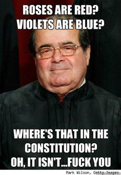 Scumbag Scalia Meme - my personal fav