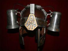 Medieval Beer Helmet on http://www.drlima.net