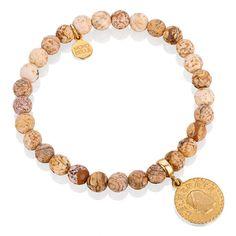 Drewniany jaspis z monetą Desert Rose, Jewelry, Bracelets, Fashion, Moda, Jewlery, Jewerly, Fashion Styles, Schmuck