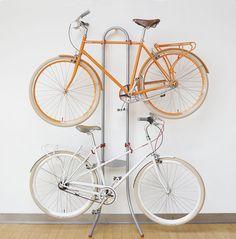 soportes para guardar la bicicleta dentro de casa