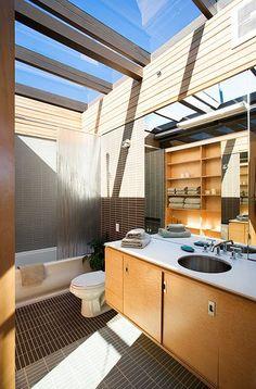 dream bathroom - love the skylights