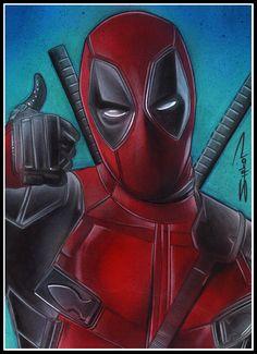 #Deadpool #Fan #Art. (Deadpool) By: RandySiplon. (THE * 5 * STÅR * ÅWARD * OF: * AW YEAH, IT'S MAJOR ÅWESOMENESS!!!™) ÅÅÅ+