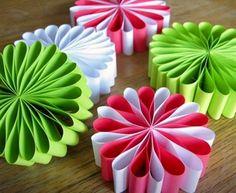 Flores de papel para decorar tu fiesta en  Primavera :D
