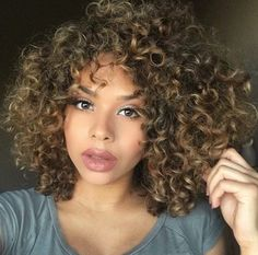 Short curly hair goals❤️