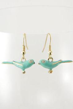 bird earrings in at finch