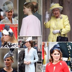 Kelly Matthews on Twitter: June 10, 2016-Countess of Wessex, Lady Louise, Queen Elizabeth, Princess Beatrice, Zara Tindall, Duchess of Cambridge, Princess Eugenie