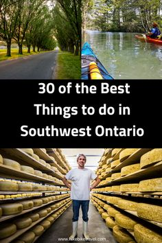 30 of the Best Things to Do in Southwest Ontario - Hike Bike Travel Ontario Camping, Ontario Travel, Toronto Travel, Cool Places To Visit, Places To Travel, Travel Stuff, Travel Destinations, Quebec, Canadian Travel
