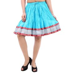 I found this beautiful design on Mirraw.com Womens Shorts Skirts 2016