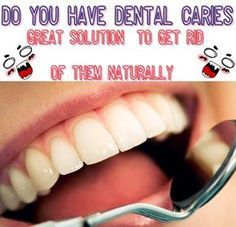 Are you afraid of the dentist and you don't want to step into his office never even for a routine ? Here I will tell you a wonderful combination that reduces cavities and guarantees your teeth healthy . For this miracle solution you need some key ingredients to mix them . Once you mix these…