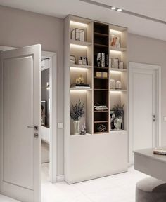 VK is the largest European social network with more than 100 million active users. Bathroom Medicine Cabinet, Decorative Items, New Homes, Shelves, Doors, Closet, House, Home Decor, New Houses