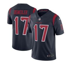 723ec2d41 Nike Texans Brock Osweiler Navy Blue Youth Stitched NFL Limited Rush Jersey  And Vic Beasley jersey