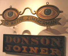 Optical Vision Resources | 19 Unique Vintage Eyeglass Signs | http://opticalvisionresources.com