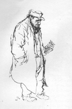 Ronald Searle, Paris Sketchbook, 1959