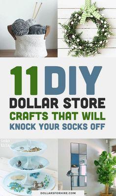 50 Dollar Store Rustic Home Decor Ideas #homedecorideas #decoratingideas #decorideas » Eknom-Jo.com