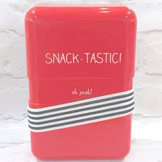 Happy Jackson 'Snack-Tastic' Lunch Box