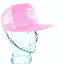 Pink Tri LAB Trucker Hat - Triathlon LAB Triathlon Gear, Crest Logo, One Size Fits All, Lab, Fitness, Pink, Fashion, Moda, Fashion Styles