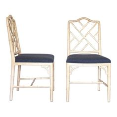 Chinese Style Chippendale Chairs on Chairish.com
