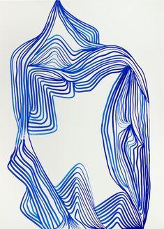 tanya ling line paintings 2