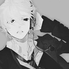 Anime Boy Tumblr | anime, anime boy, black and white, boy - inspiring image #683018 on ...