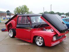 Custom Billet Hot Rod Parts - Customer Cars - 55 Ford F-100