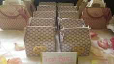 Gucci theme Baby Shower Party Ideas | Photo 6 of 32 | Catch My Party