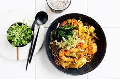 Despite its name, this dish is Cantonese, says chef Matt Moran. What could be better for a midweek meal than a big comforting bowl of noodles? Stir Fry Recipes, Noodle Recipes, New Recipes, Cooking Recipes, Healthy Recipes, Fast Recipes, Cooking Ideas, Food Ideas, Dinner Recipes