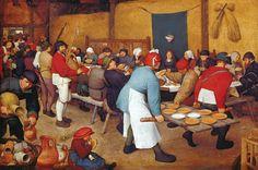 Kunsthistorisch Museum Wien - Pieter Bruegel de Oude - Boerenbruiloft