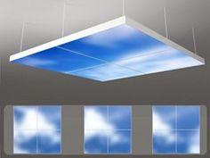 LED pendant lamp MOVING SKY LED PANEL | FLAT - Neonny