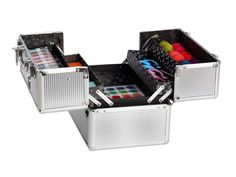 Never underestimate the power of CABOODLES!  Use to store craft supplies and other miscellaneous items