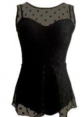 9d168774aff Plus Bowknot Embellished Peplum Hem Swimdress and Shorts   liligal.com -  USD $33.83
