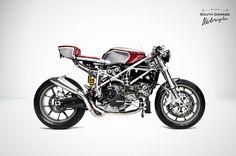 """Martinez"" Ducati 749 Cafe Racer custom"