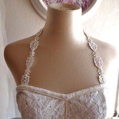 Bretelles amovibles pour robe bustier