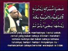 Quran recitation of Qari Mekkawi Mohmoud Mohamed (Egypt) In Malaysia 1996