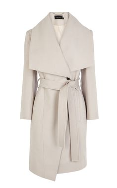 Belted coat | Luxury Women's outerwear | Karen Millen