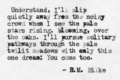 R.M. Rilke