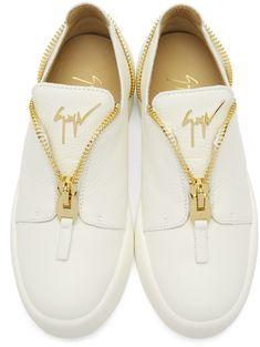 d2f0419db196 Giuseppe Zanotti - White May London Sneakers
