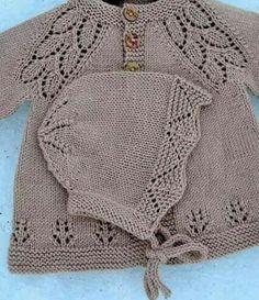 elikae's Girly maile - Babykleidung Baby Cardigan Knitting Pattern, Baby Hats Knitting, Knitting For Kids, Baby Knitting Patterns, Knitting Designs, Baby Patterns, Knitted Hats, Girly, Ravelry