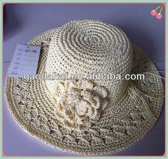 sombreros tejidos a crochet para damas - Buscar con Google