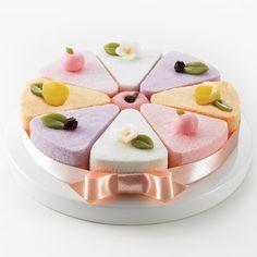 rice cake , # korean rice cake, 과일맛 설기 떡 ,