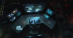 Control Room by JamesLedgerConcepts.deviantart.com on @deviantART