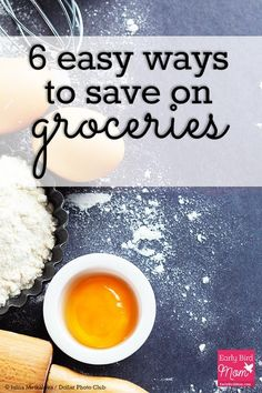 Food makes up such a large part of a family's budget. Here are 6 easy ways to save money on groceries so you have more left over for the other parts of your life.